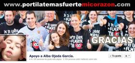 Apoyo a Alba Ojeda Garcia