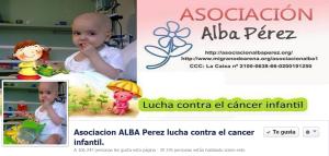 Asociación Alba Perez. Lucha contra el cáncer infantil